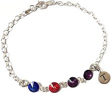 Personalised Sterling Silver Family Birthstone