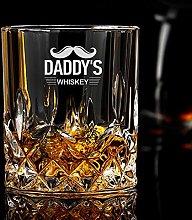 Personalised Whiskey Tumbler Custom Gift for Men