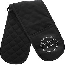 Personalised Wreath Oven Gloves