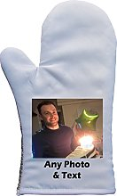 PERSONALISED YOUR PHOTO PRINT OVEN MITT OVEN GLOVE