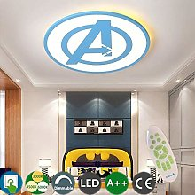 Personality Ceiling Light Avengers Captain America