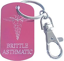 Personalized Brittle Asthmatic SOS Medical Alert