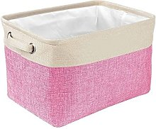 Personalized Collapsible Dog Toy Storage Basket -