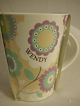 Personalized Female Mugs 181000169 Wendy Coffee