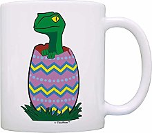 Personalized Mug Easter Adults Easter Egg Dinosaur