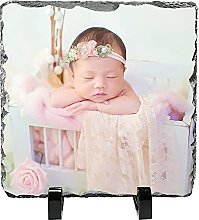 Personalized Picture Frames Rock Slate Photo
