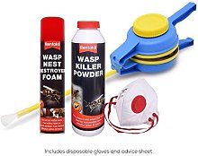 Pest Control Direct Wasp Killer Pack - WITH FREE