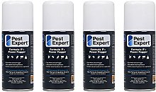 Pest Expert Carpet Moth Killer Fogger 4 x 150ml-
