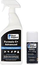 Pest Expert Clothes Moth Killer Spray 1ltr and