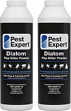 Pest Expert Flea Killer Powder 2 x 100g - Diatom