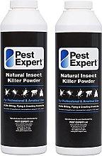 Pest Expert Flea Killer Powder 2 x 300g - Natural