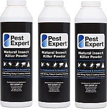 Pest Expert Flea Killer Powder 3 x 300g - Natural