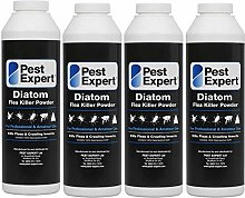 Pest Expert Flea Killer Powder 4 x 100g - Diatom