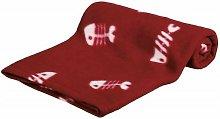 Pet Beany Fleece Blanket - Bordeaux/Red - Trixie