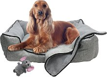 Pet Bed Blanket and Toy Bundle