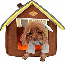 Pet Bed Kitten Bed Triangle Pet Bed Dog Comfort