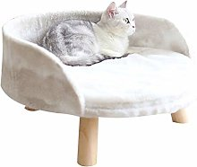Pet Bed Pet Litter Dog Cat Wooden Sofa Bed Cat