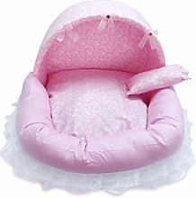Pet Bed Puppy Princess Tent Bed House For Washable
