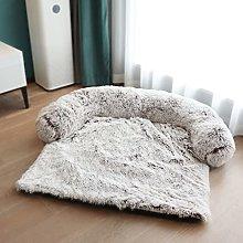 Pet Bed, Round Corner Plush Dog Bed Cat Bed, Soft