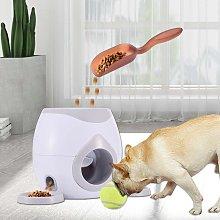 Pet Dog Ball Thrower Tennis Food Reward Machine -