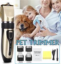 Pet Dog Washable Shaver Low-noise Hair Clipper