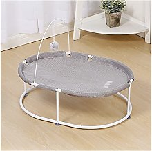 Pet Hammock Indoor Elevated Cat Bed & Hammock with
