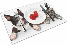 Pet Logo Insulation Heat Resistant Table Mats Easy