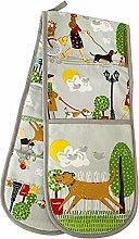 Pet Puppy Dog Theme Walkies Kitchen Cotton Hand