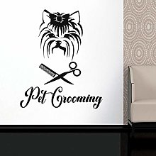 Pet Repair pet Care Animal Hair Vinyl Wall Sticker