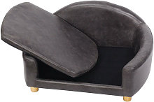 Pet Sofa Chair Dog Puppy Cat Kitten Soft PU Couch