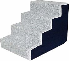 Pet Stairs, 3/4 Steps Dog Stairs Climbing Ladder