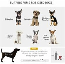 Pet Stroller Cat Dog Basket Zipper Entry Fold Cup