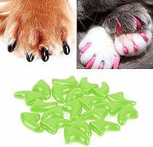 Pet supplies Wj20 PCS Silicone Soft Cat Nail