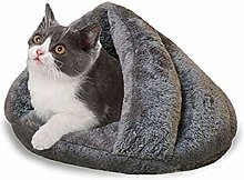 Pet Tent Cave Bed for Indoor Cats Portable Cat Bed