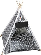 Pet Tent House Pet Teepee Dog Tent with Cushion