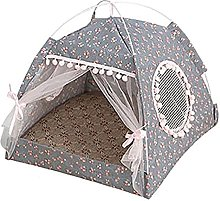 Pet Tent Portable Folding Cat Kitten Bed