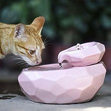 Pet Water Fountain for Cats and Dogs Ceramic