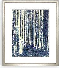 Peter Neumann - Abstract Trail Framed Print &