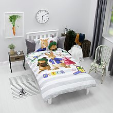 Peter Rabbit Forest Bedding Set - Single