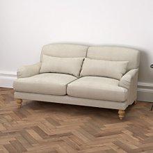 Petersham 2 Seater Sofa Linen Union, Natural Linen