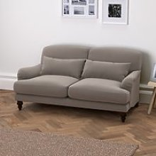 Petersham 2 Seater Velvet Sofa - Natural Oak,