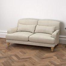 Petersham 3 Seater Sofa Linen Union, Natural Linen
