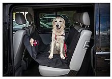 Petface Waterproof Rear Car Seat Cover For Pets