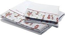 Petit Lazzari Bedding Set Colette White/Pink Cot