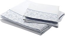 Petit Lazzari Bedding Set Teddy White/Blue Cot