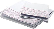 Petit Lazzari Bedding Set Teddy White/Pink Cot