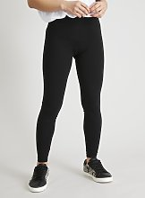 PETITE Black Luxe Soft Touch Leggings - 10