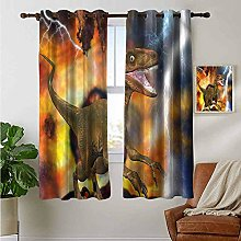 Petpany Blackout Curtain Panels Window Draperies