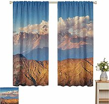 Petpany curtains for living room Landscape,Svaneti