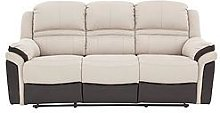 Petra 3 Seater Manual Recliner Sofa